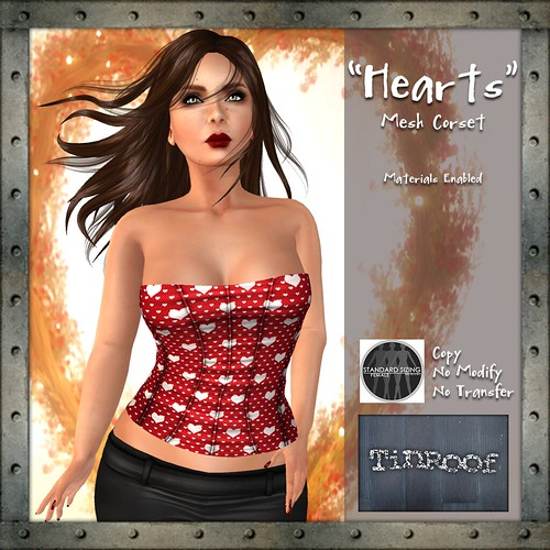 TinRoof-Valentines-Corset-Ad-Red | by TinRoof Second Life Fashion