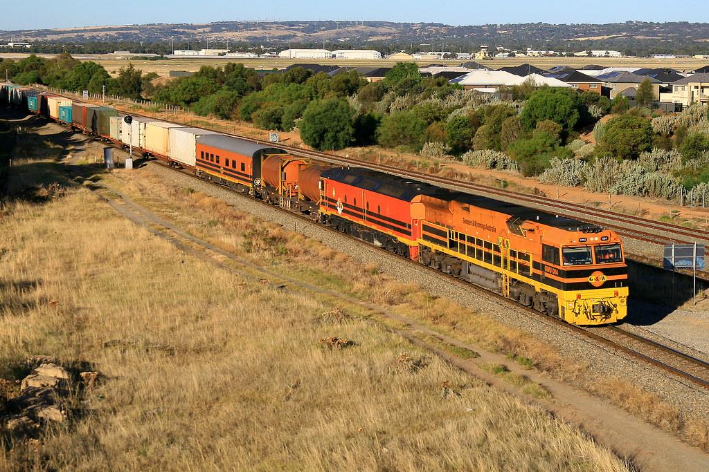 4DA2 GWU004 & ALF20 by Trackside Photography Australia