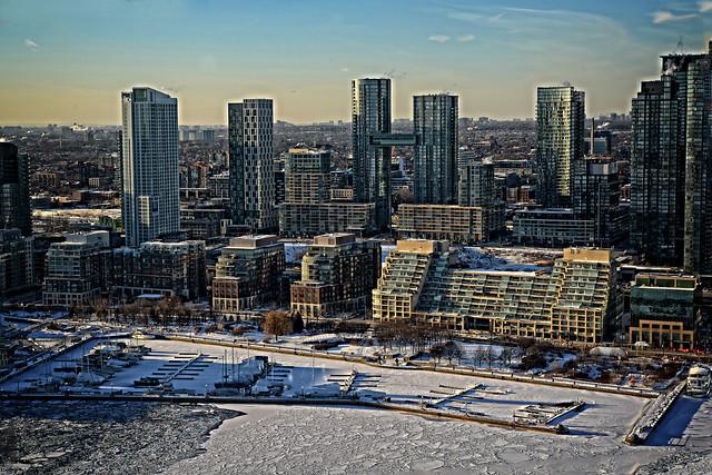 Quay West Marina and Toronto Shoreline