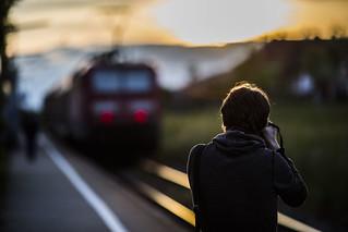 Train Shooting   by Tria-media_Sven