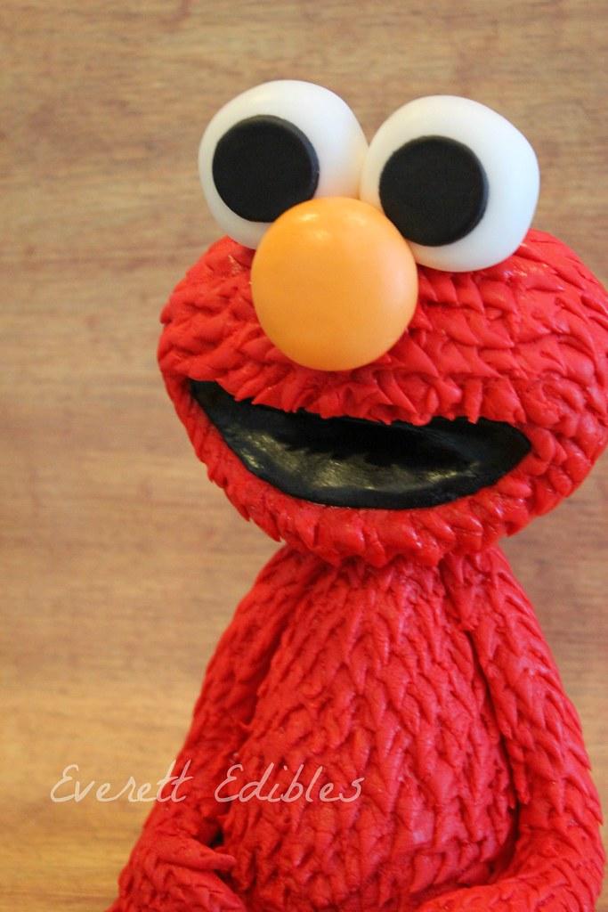 Elmo Cake Topper Decoration Edible Art Sesame Street   Flickr