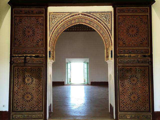 Menara Gardens: beautiful mosaic