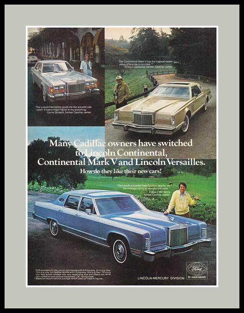 Lincoln Automobiles, 1978