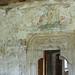 hrad Bečov nad Teplou, původní výzdoba stěn ze 14. století, foto: Petr Nejedlý