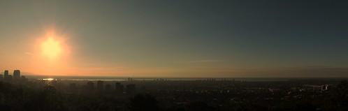 summer sunrise montreal westmount