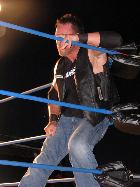Mr. Anderson - (TNA) Impact Wrestling 8/31/13 Shenandoah County Fair - Woodstock, Virginia