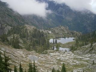 Murdock Lakes,  Mt Skokomish Wilderness