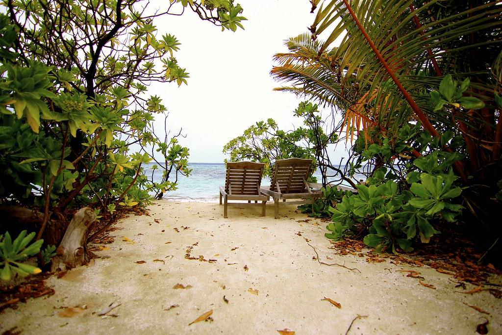 Beach Benches Fun Island Resort Maldives Asela Flickr