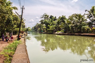 Pathinarilchira Karapuzha Kottayam river landscape beauty greenary tourism boat village | by prasad.om