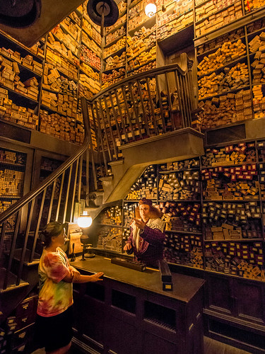 Ollivander's Wand Shop (The Wizarding World of Harry Potter | by NormLanier - Publisher DailyDisneyPhoto.com
