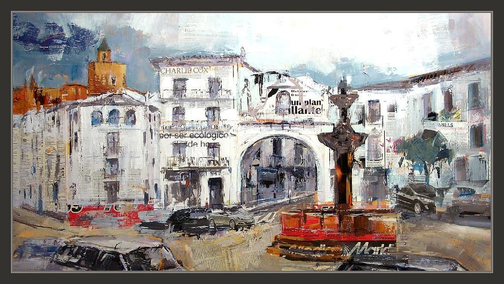 Antequera Pintura Malaga Pinturas Andalucia España Paisaje Flickr