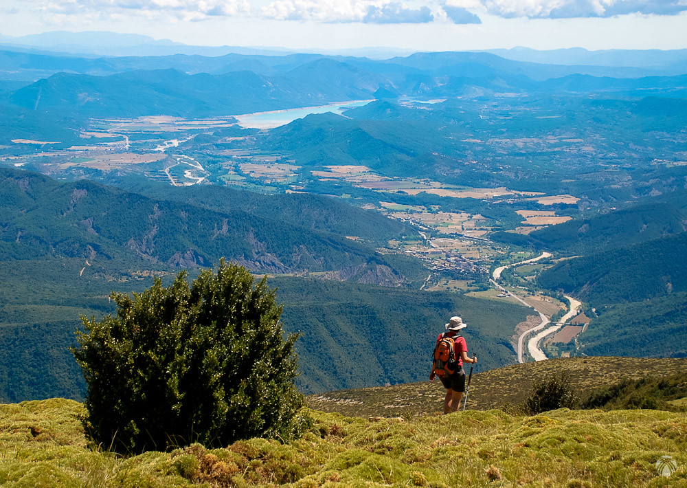 Boltaña y la confluencia de los ríos Ara y Cinca
