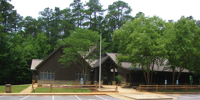 William B. Umstead State Park visitor's center