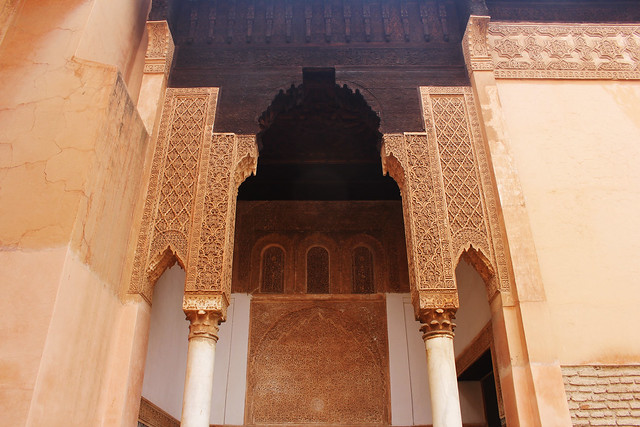 Arch at the Saadian tombs