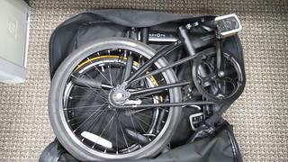 Dahon Speed Uno in S & S Backpack   by 1nterceptor