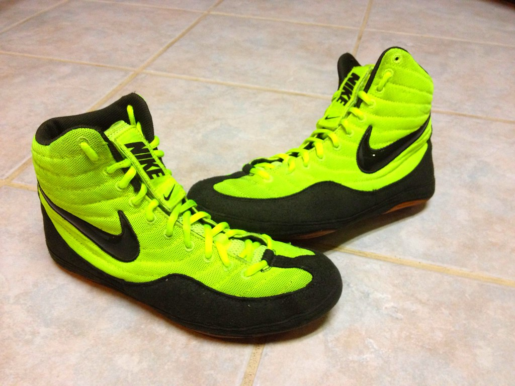 new arrival 6dff5 efd7d Nike Volt Sample Olympic Edition Inflict   by Wrestling Shoe Museum.