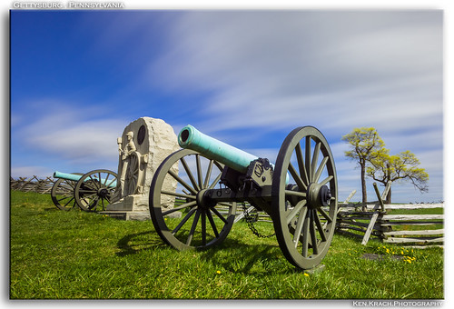longexposure bulb gettysburg cannon canon60d