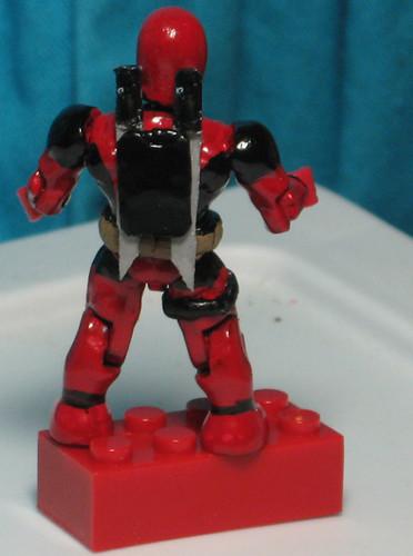 Marvel Megabloks Deadpool : Mangamike's Custom Action Figures