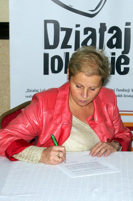 """Małgorzata Wiśniewska, Stowarzyszenie """"Niesiemy Pomoc, Dajemy Radość"""""""