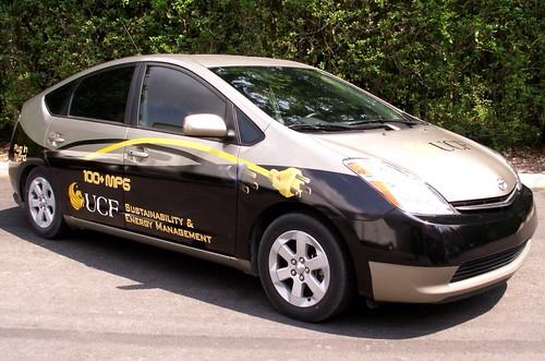 Toyota car wrap in Orlando by TechnoSigns