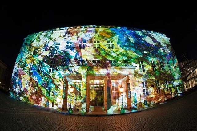 Festival Of Lights 2013: Palais am Festungsgraben