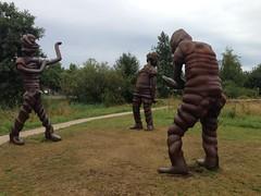 Sculptures in Griftpark Utrecht