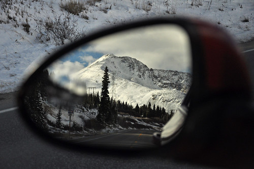 blind spot mirror out of focus   by Anosmia
