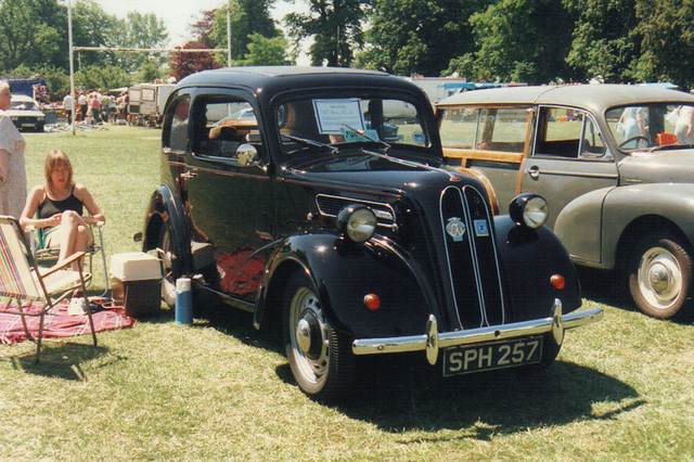 Ford Popular/Anglia - SPH 257