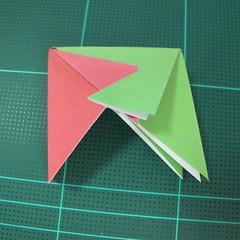 วิธีพับกล่องของขวัญแบบโมดูล่า (Modular Origami Decorative Box) โดย Tomoko Fuse 028