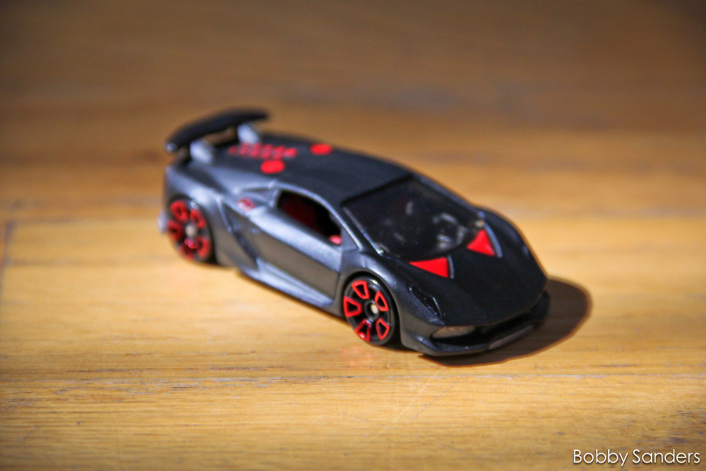 Hot Wheels Custom Lamborghini Sesto Elemento Bobby Sanders Flickr