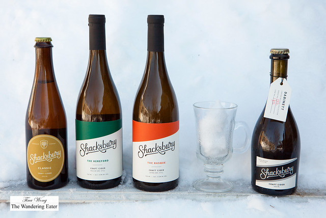 Shacksbury Ciders - Classic, The Hereford, The Basque and Dabinet (Limited Edition)