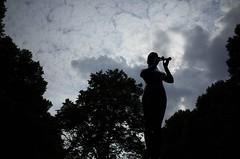 fluitspeelster, Parklaan, Rotterdam