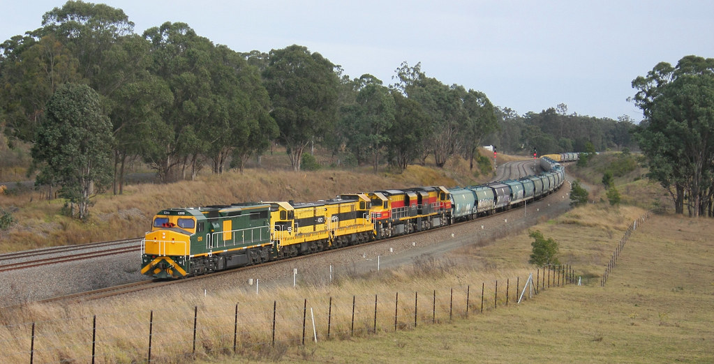 SSR GRAIN C510 + 4910 + 4904 + BRM002 & BRM001 LOCHINVAR 9th June 2016 by Peter Cousins