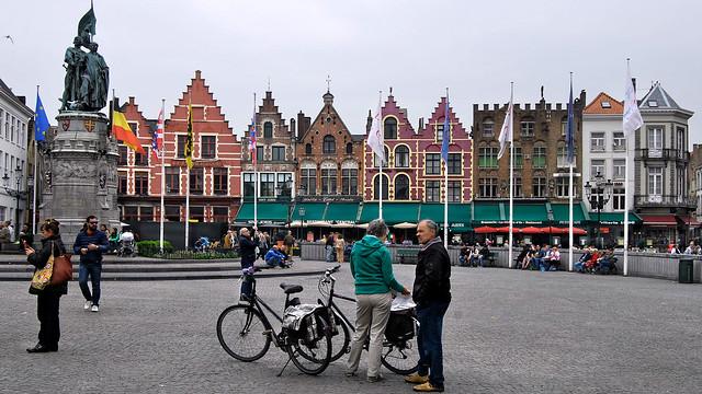 Grote Markt (Plaza Mayor) Brujas