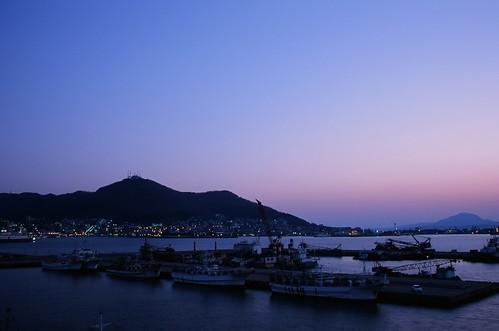 sunset film hokkaido harbour hakodate rdpiii fdreviewc9 fdreviewl238
