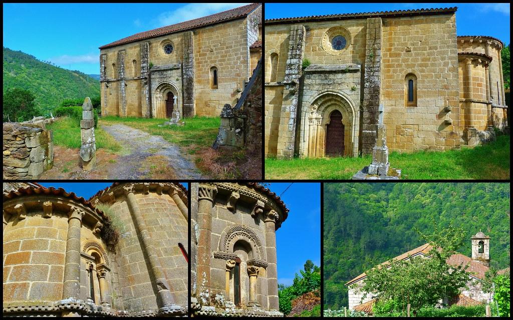 Resultado de imagen de iglesia de «San Vicente de Pombeiro».