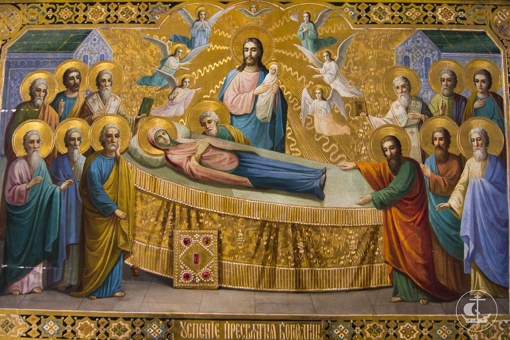 27 августа 2013, Всенощное бдение накануне Успения Пресвятой Богородицы