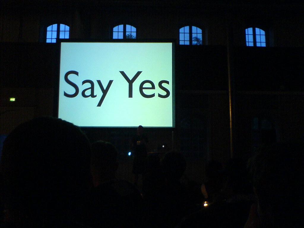 Ben Hammersley: Say Yes