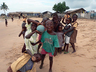 Kids in nearby village | by Stig Nygaard