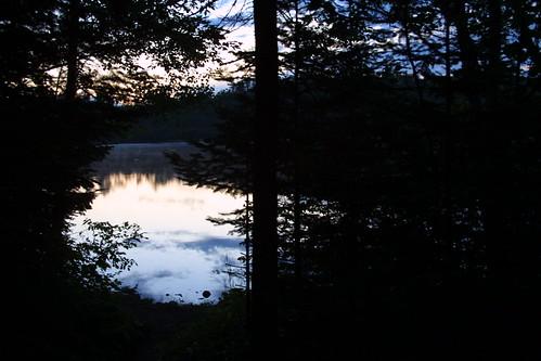 wisconsin sunrise landscape bearlake