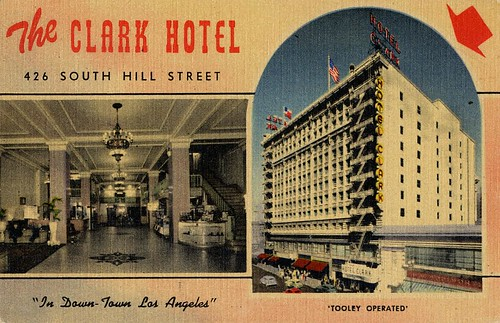 The Clark Hotel - 426 South Hill Street | by zilf