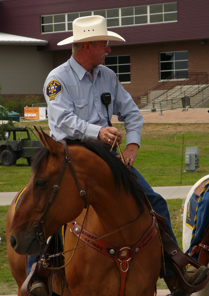 Which way did they go? Larimer County Sheriff Mounted Patr… | Flickr