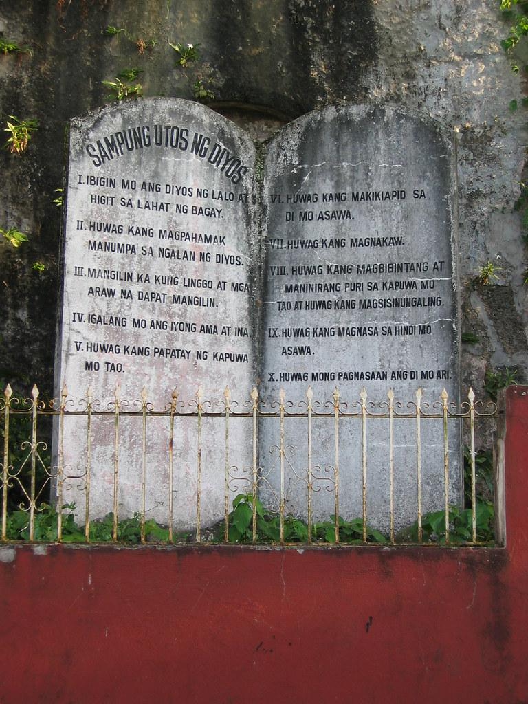 Ten Commandments In Tagalog Sampung Utos Ng Diyos Majay Flickr