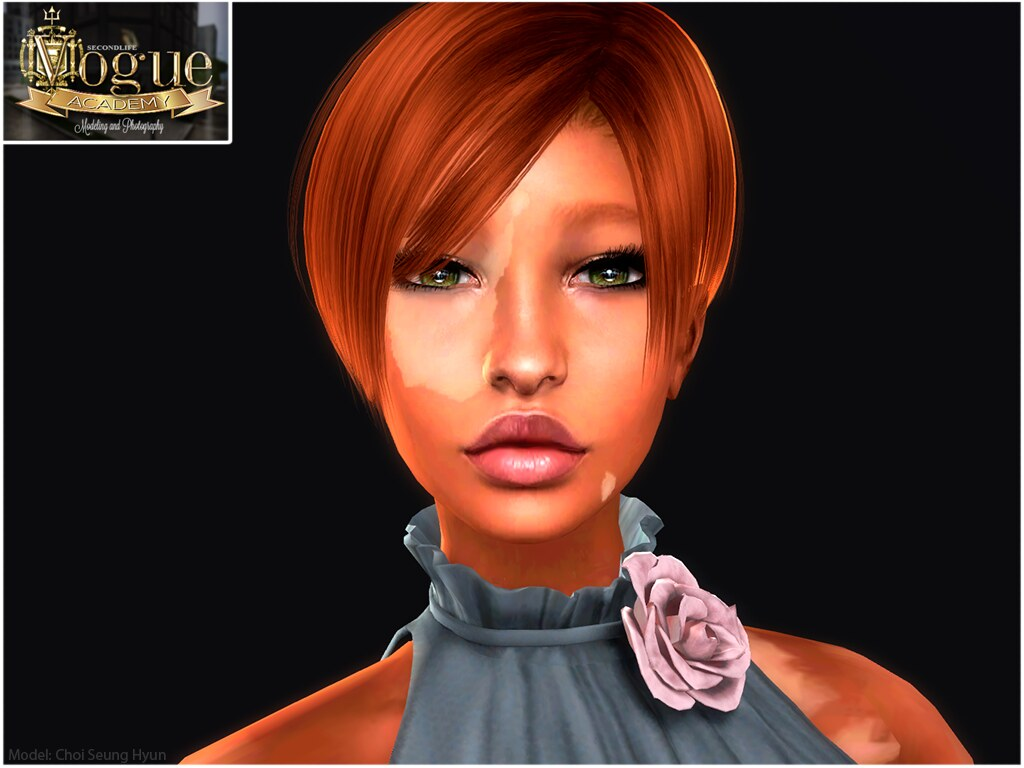 Chois Headshot My Sl Vogue Academy Assignment While In Cl Flickr