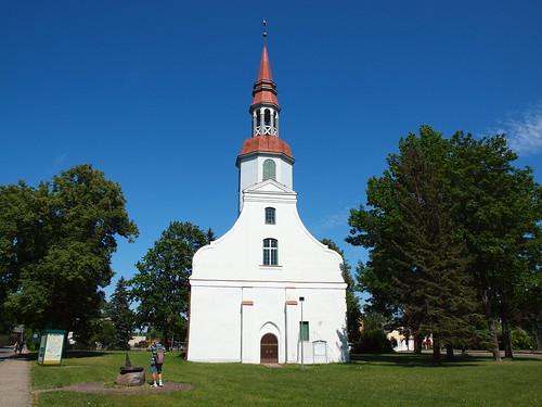 building church st architecture latvia catherine lutheran baltics evangelical valka lugaži lugažistcatherineevangelicallutheranchurch