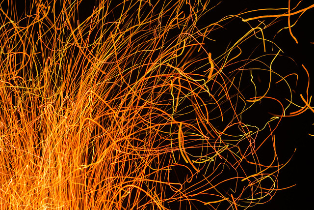 Fire Painting