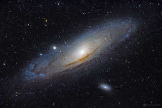 Andromeda Galaxy & Companions | by Tim Campbell1