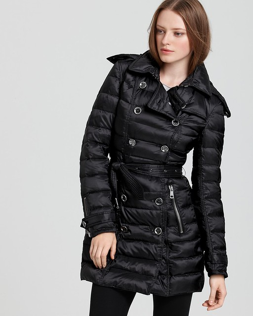 quilted Winter Trench