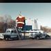 Billboard with Santa - Circa 1954 by Michael Paul Smith