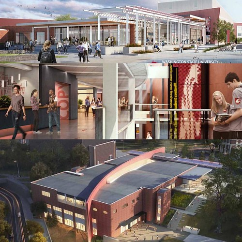 The #washingtonstateuniversity Board of Regents will meet Friday @WSUSpokane. The Regents will be asked to approve schematic design documents for The Chinook (Old Bookie). The student-approved & funded project will include study and social spaces, a quick
